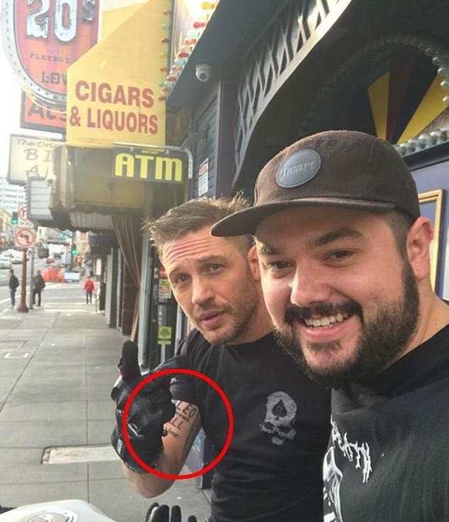 Татуировка Тома Харди: Лео знает всё