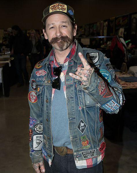 Оливер Пек - ведущий телешоу о татуировках Ink Master