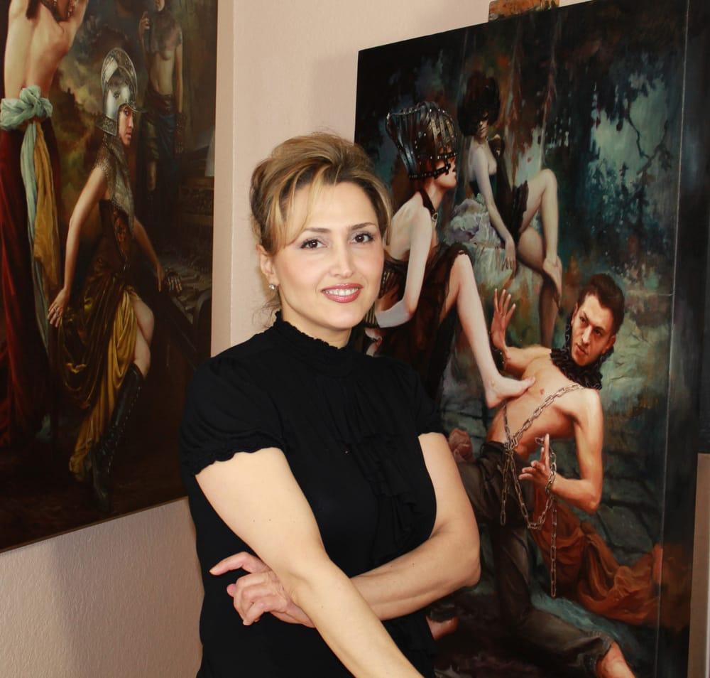 американская художница армянского происхождения Александра Манукян