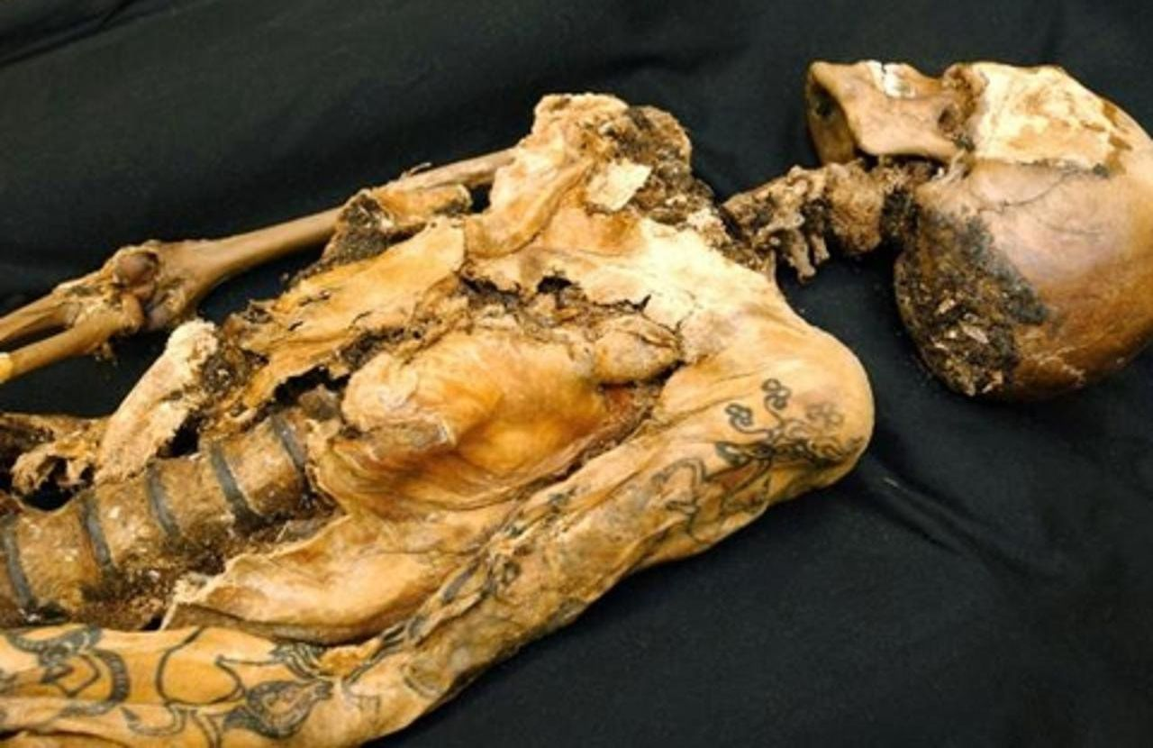 мумия Принцессы Укока