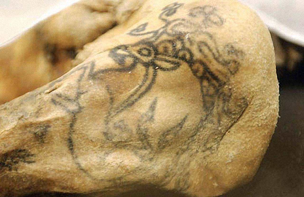 татуировки Принцессы Укока