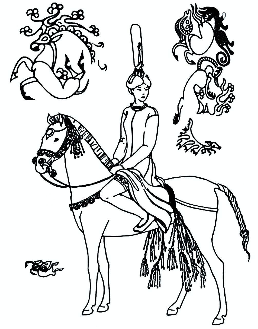 Принцесса Укока и дизайны её татуировок