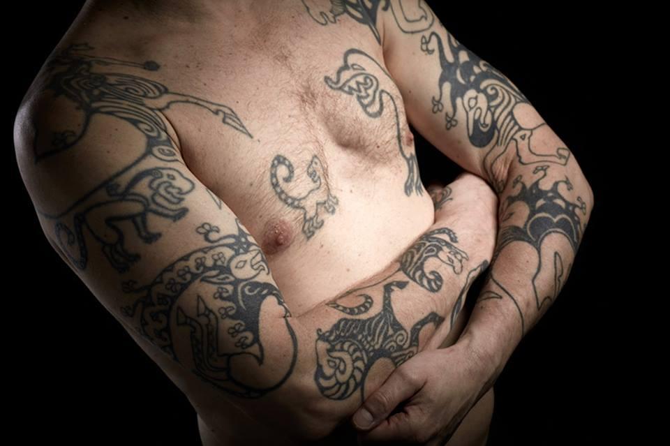 канадский профессор и его татуировки древних скифов