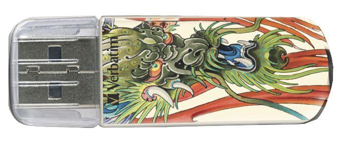 Tattoo Edition - флешка Varbatim (дракон)