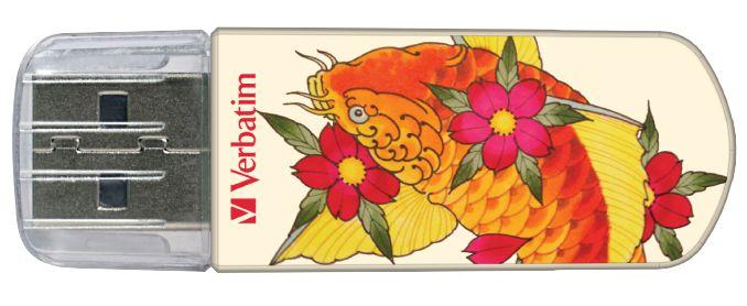 Tattoo Edition - флешка Varbatim (карп кои)