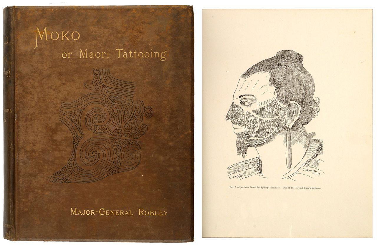 книга Моко - Татуировка Маори, автор Горацио Гордон Робли