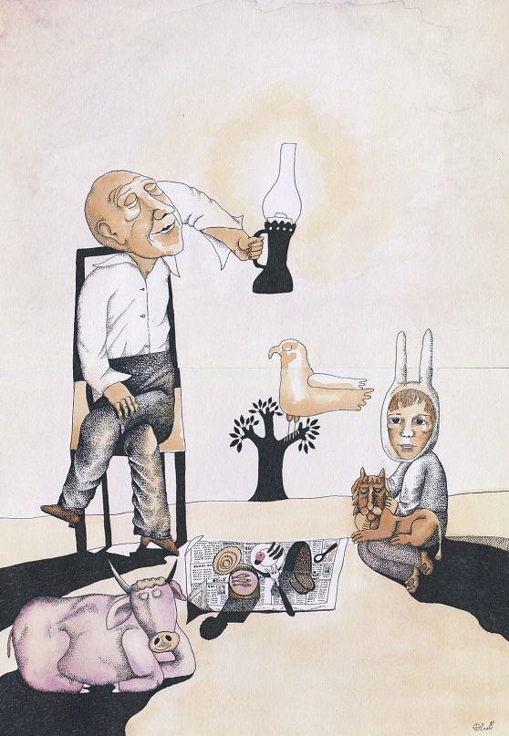 Дмитрий Бухров (художник и татуировщик), ранняя графика