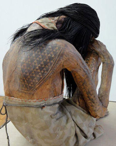 инки, жертвоприношения, татуированная мумия девочки