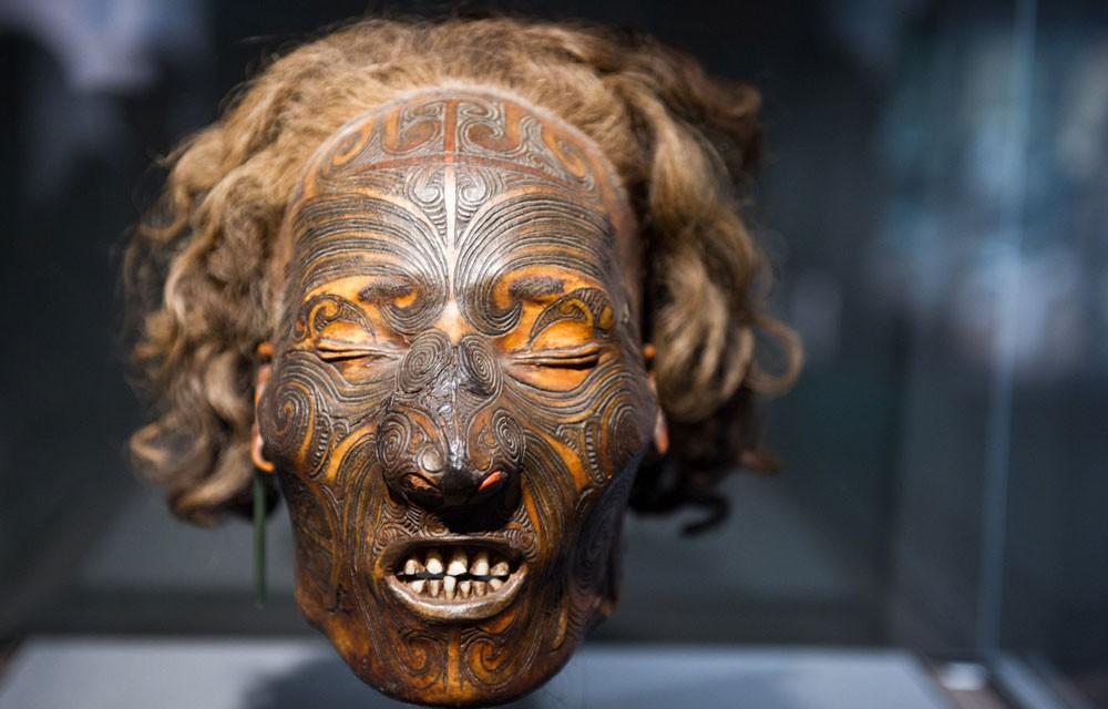 Мокомокаи, Маори, сушеные головы, мумии