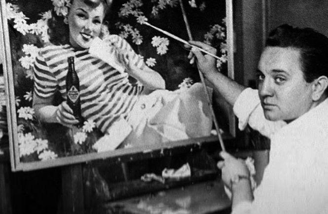 Джил Элвгрен – самый успешный и хорошо-оплачиваемый художник стиля ПинАп