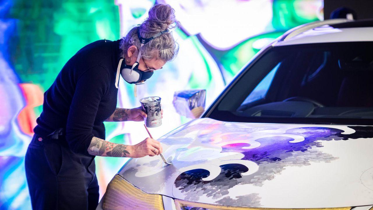 роспись автомобиля