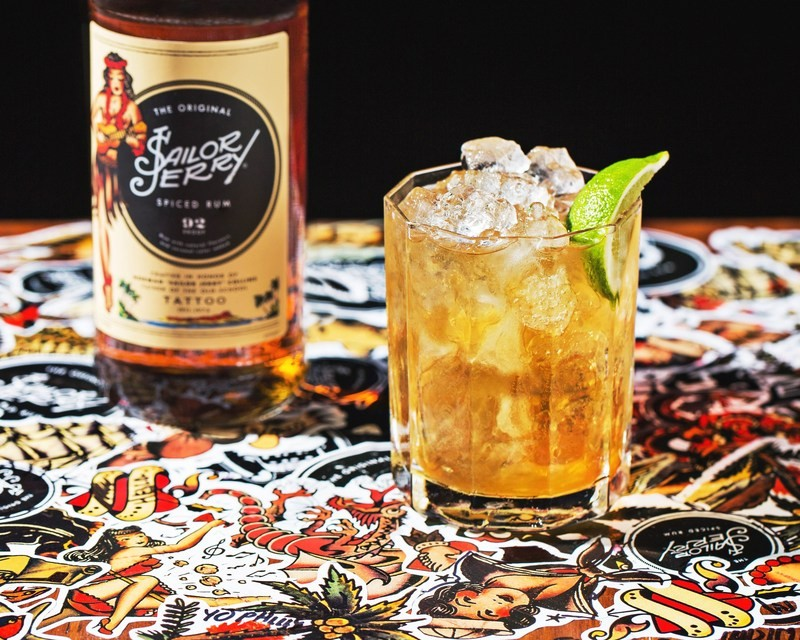 Sailor Jerry Spiced Rum - пряный ром