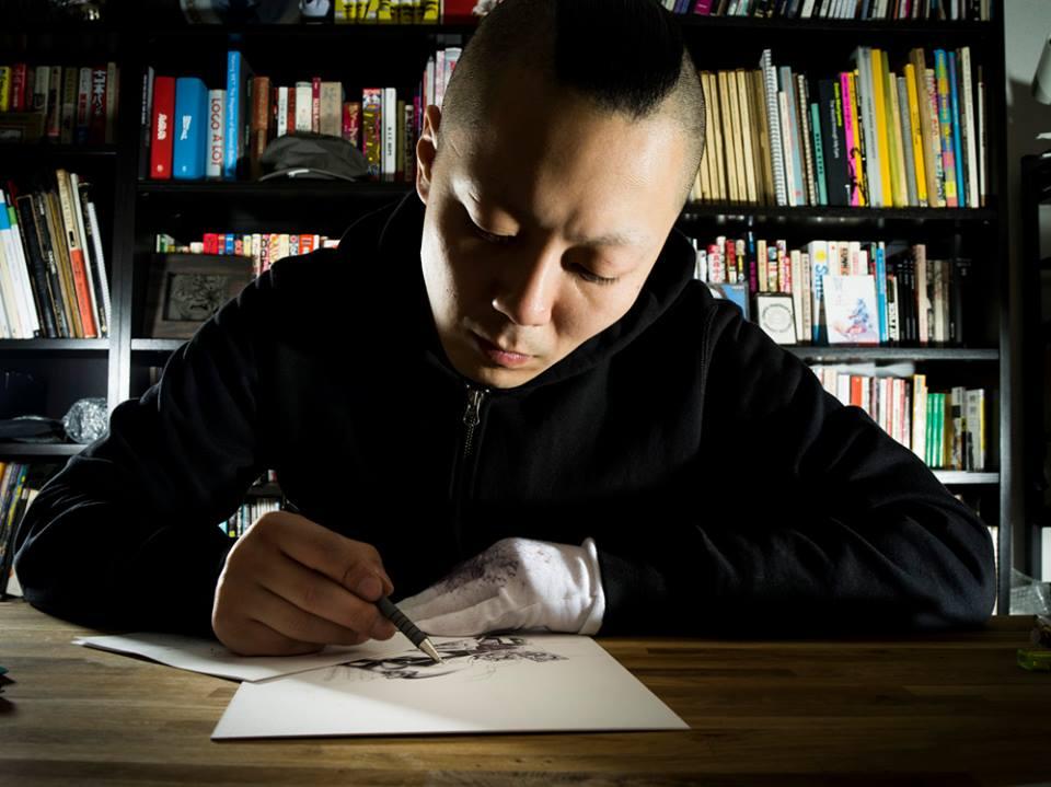 японский художник Шохей Отомо