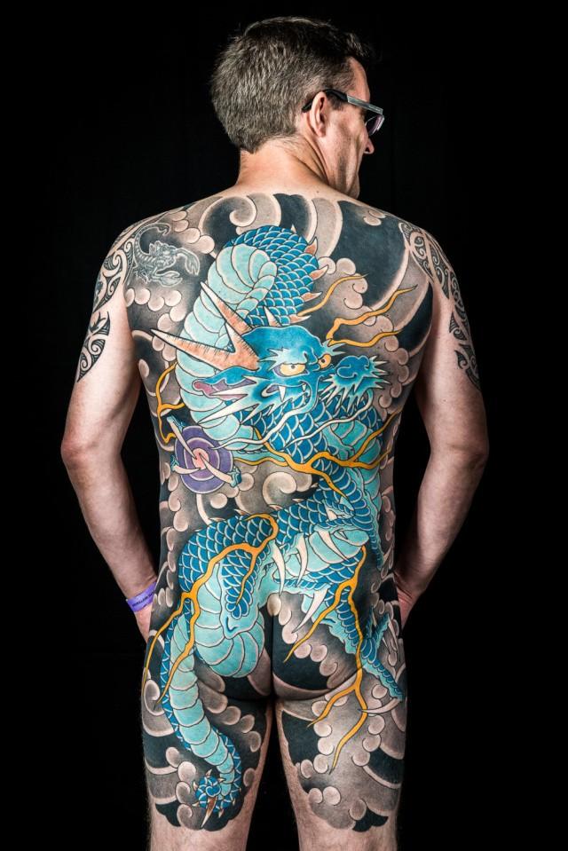 Международная Тату-Конвенция в Лондоне в фотографиях (автор Иэйн Крокарт)