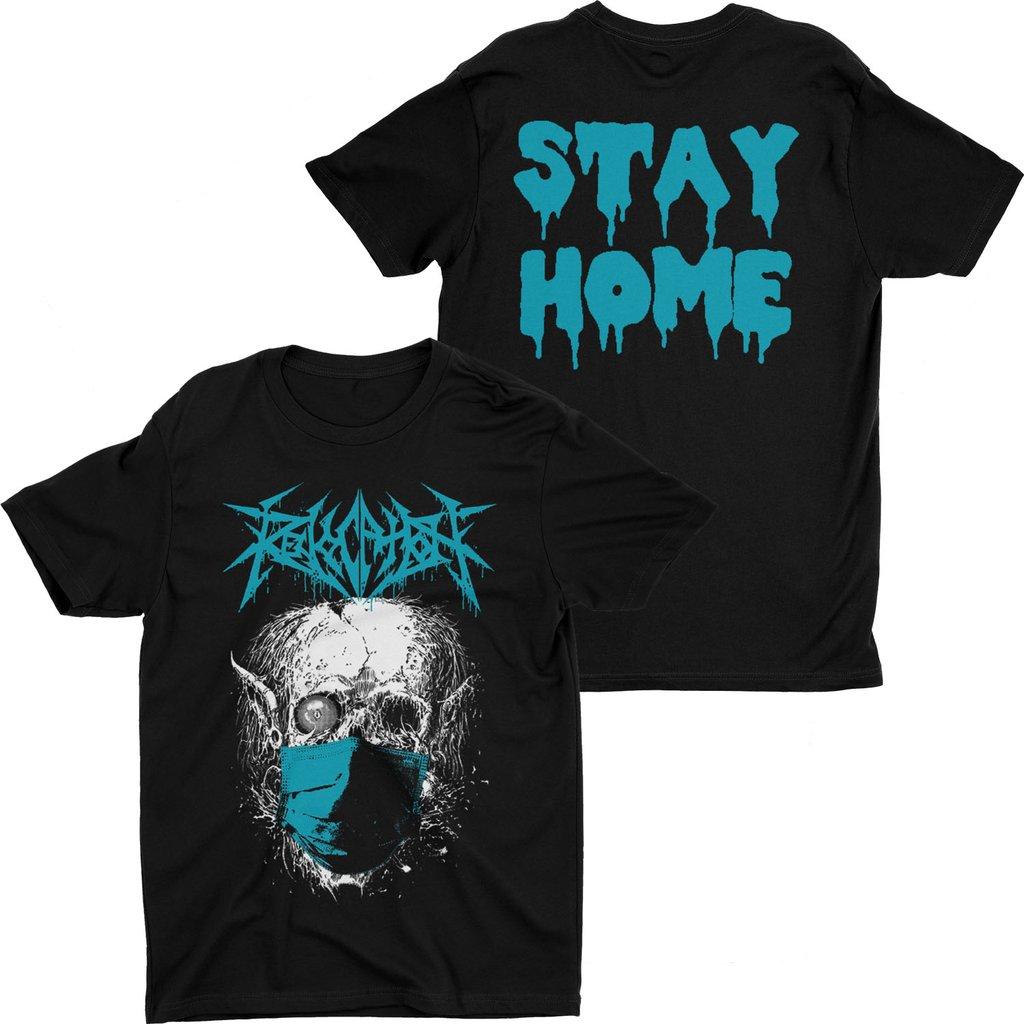 Revocation, Stay Home, футболка, Оставайся Дома, медицинские маски