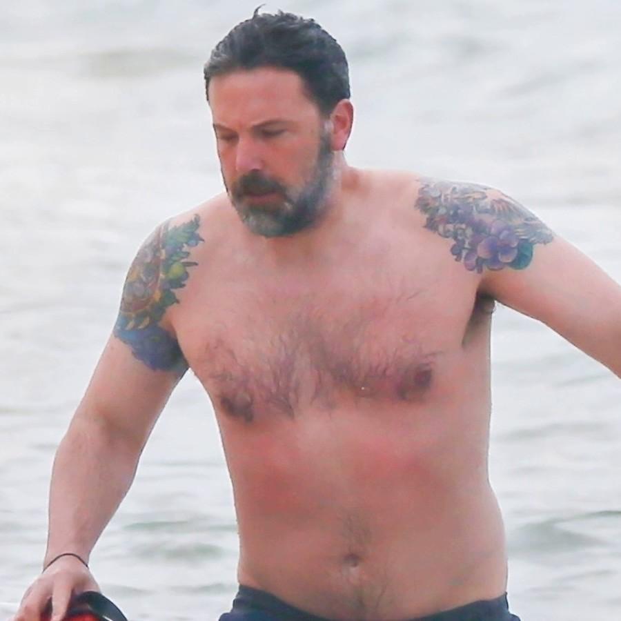 татуировки голливудской звезды по имени Бен Аффлек