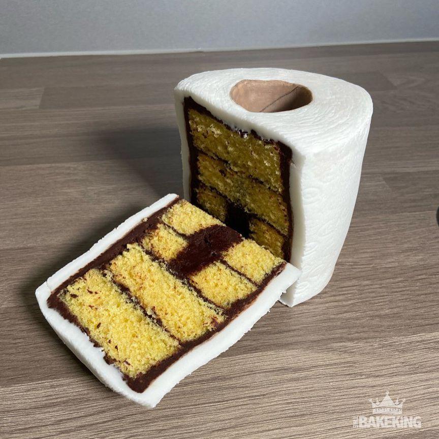 туалетная бумага - дизайнерские торты от бывшего татуировщика по имени Бен Каллен (Ben Cullen)