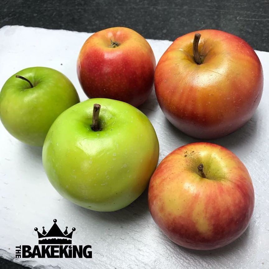 яблоки - дизайнерские торты от бывшего татуировщика по имени Бен Каллен (Ben Cullen)