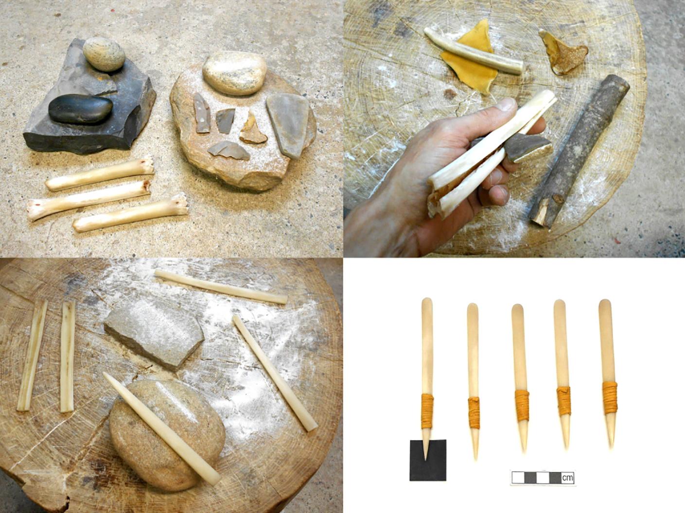 древние инструменты татуировщика