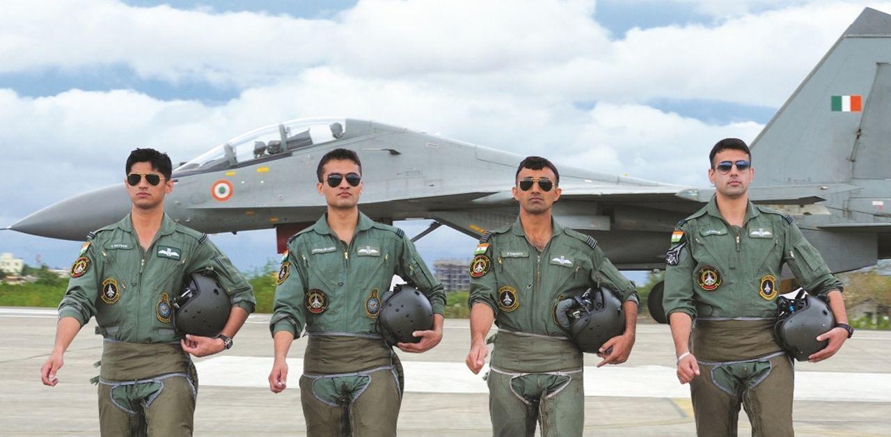 индийские летчики