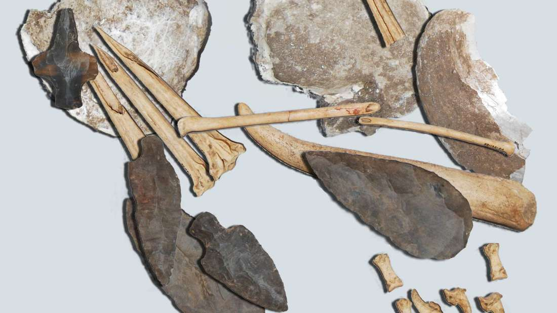 тату-набор древних индейцев