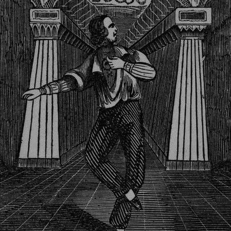 Джеймс О'Коннелл и его татуировки в цирке Барнум