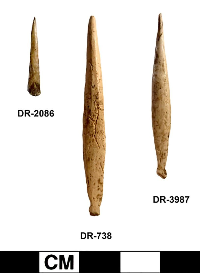реплика древних инструментов татуировщика