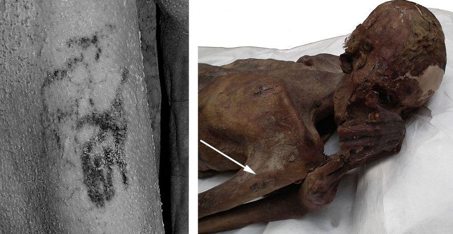 Найдены новые доказательства существования тату-культуры в древнем Египте 2