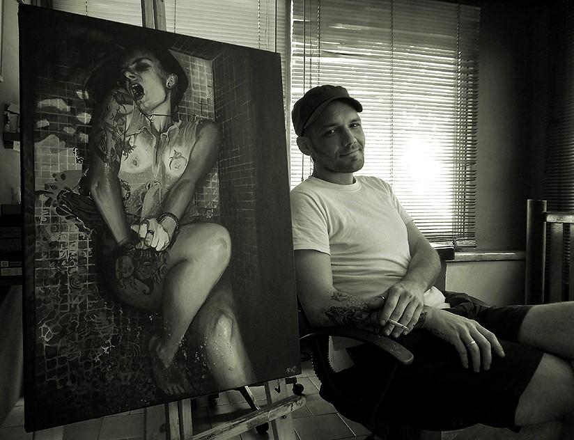 Леандро Клаппут - художник из города Буэнос-Айрес