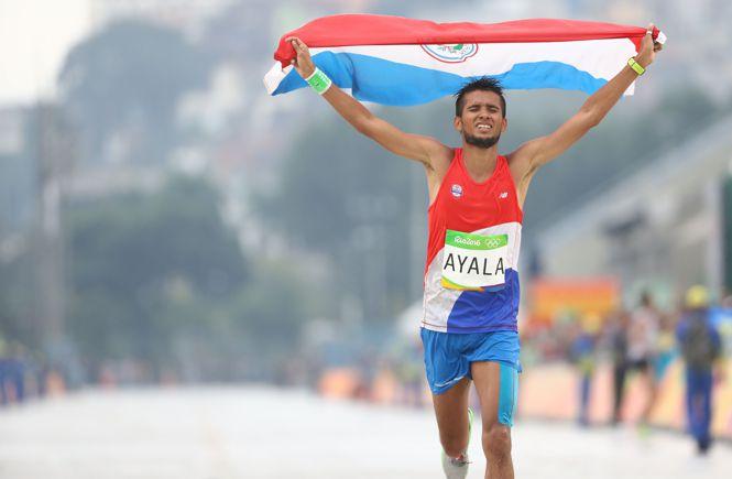 парагвайский бегун на длинный дистанции Дерлис Рамон Айяла