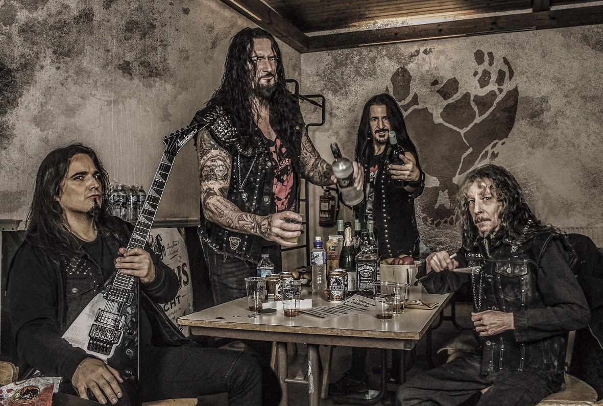 немецкая трэш-метал группа Destruction