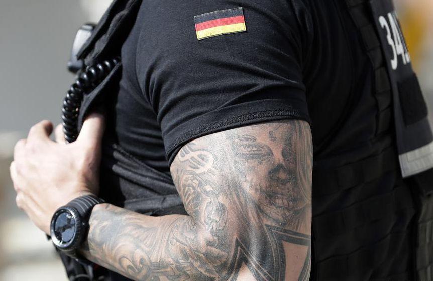 татуировка немецкого полицейского