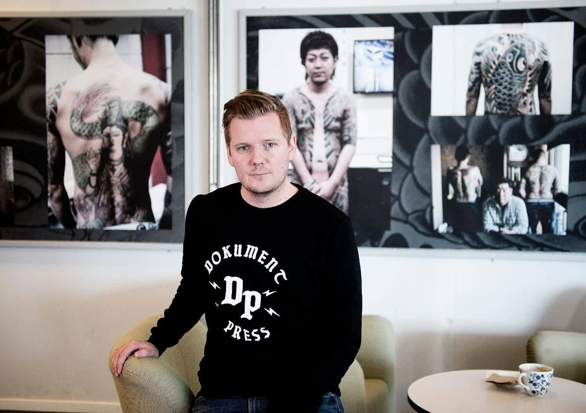писатель и фотограф Андреас Джоанссон