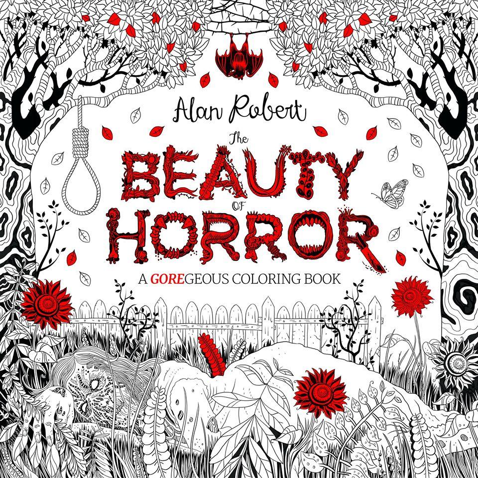 The Beauty of Horror, раскраски для взрослых, Life of Agony