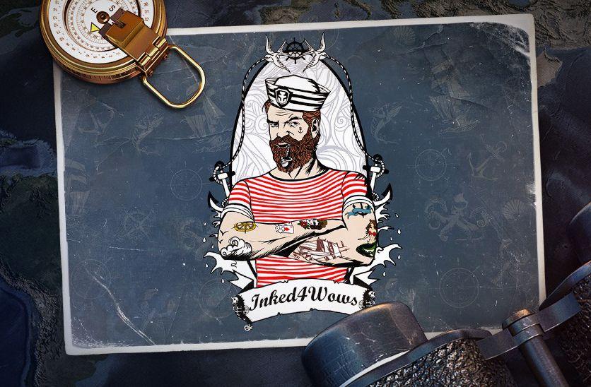 конкурс татуировок от World of Warships