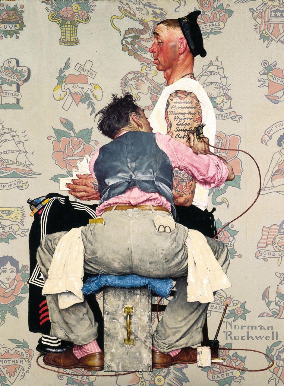 американский художник Норман Роквелл