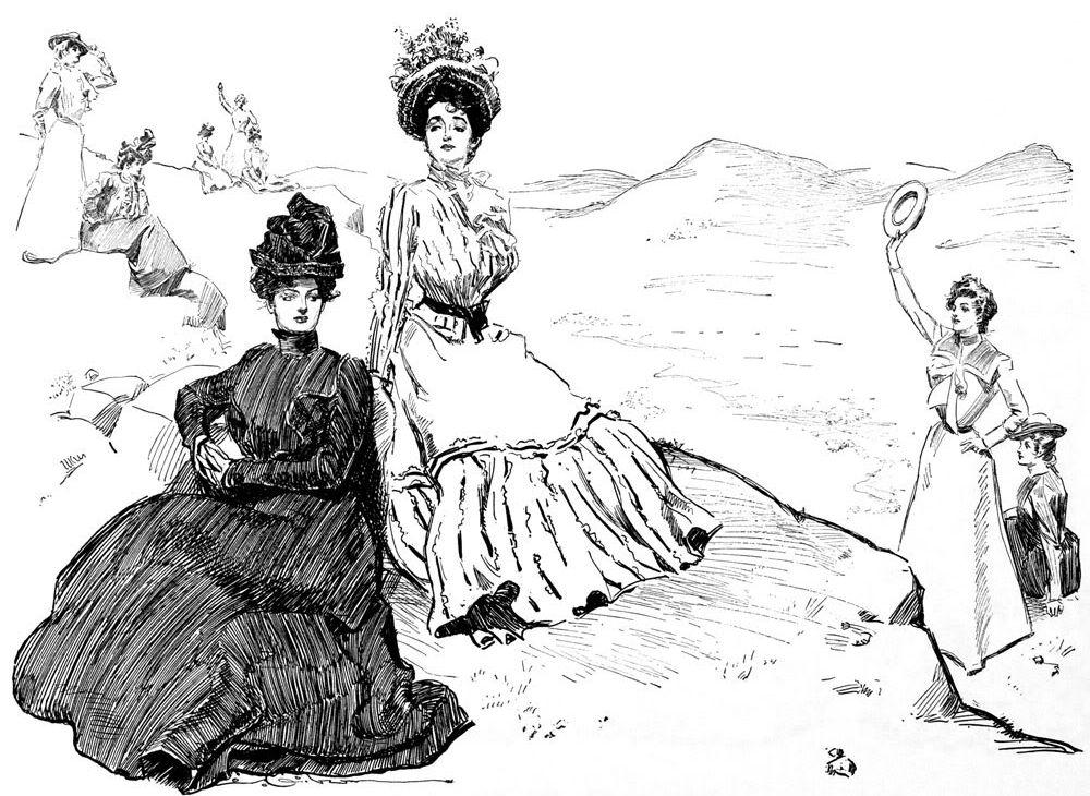 девушки гибсона