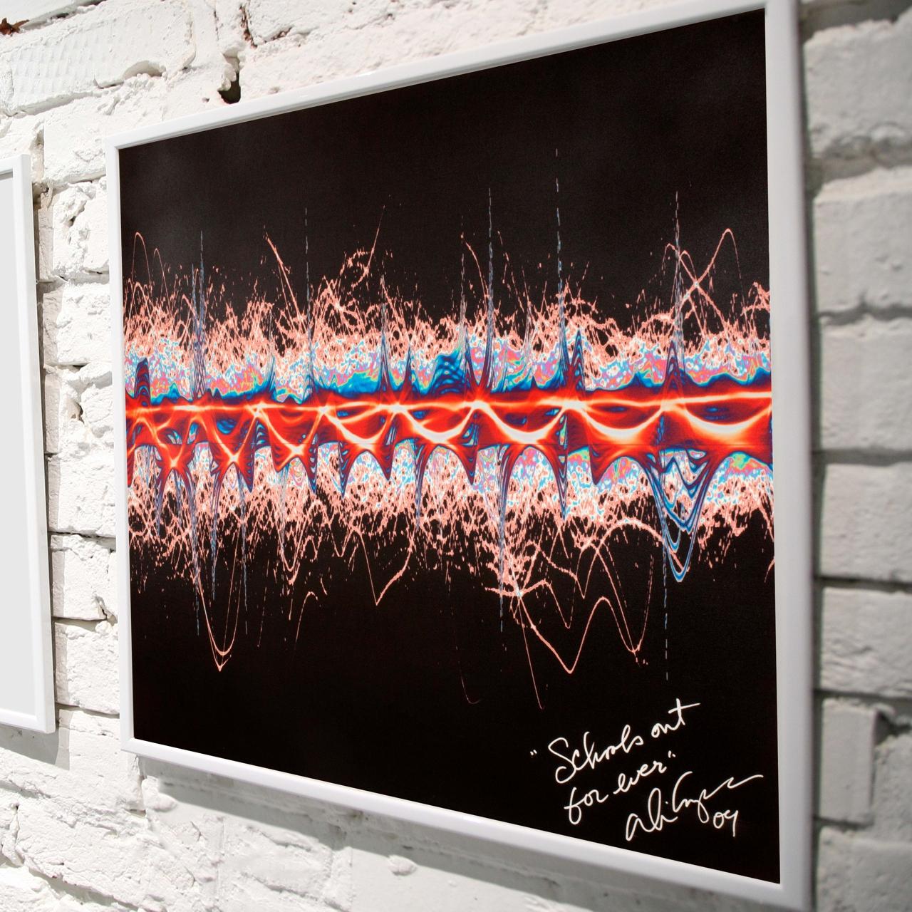 Alice Cooper с песней Schools Out в художественном проекте Sound Art Foundation