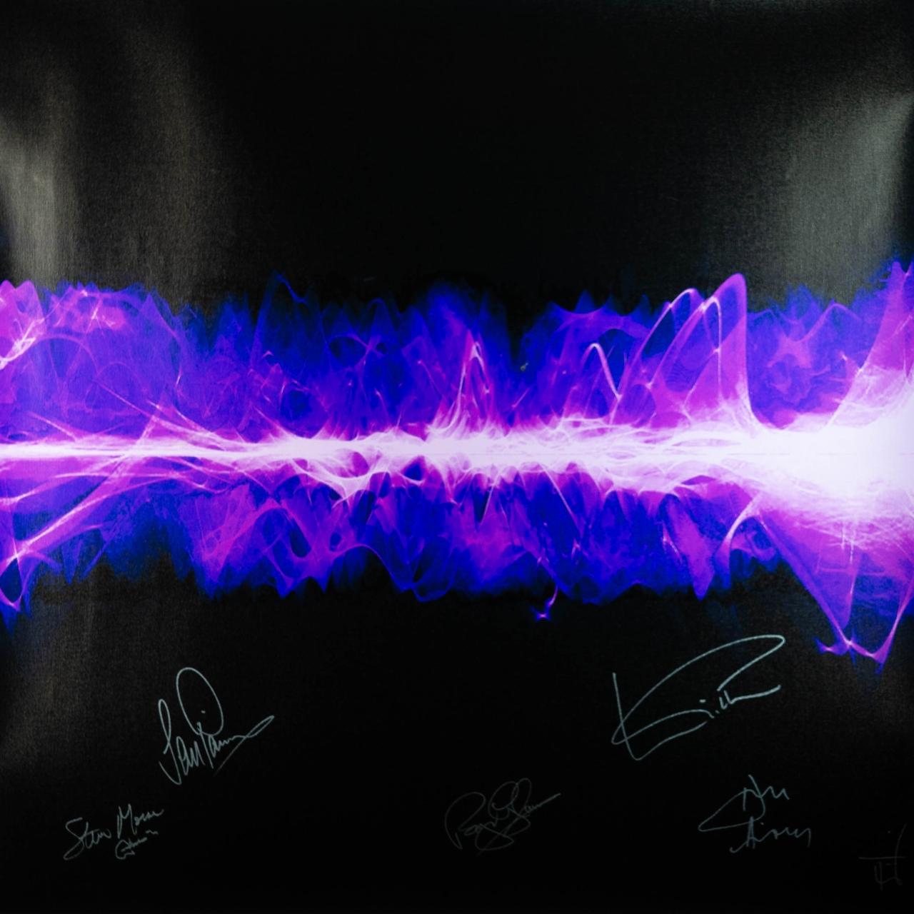 Deep Purple с песней Smoke On The Water в художественном проекте Sound Art Foundation