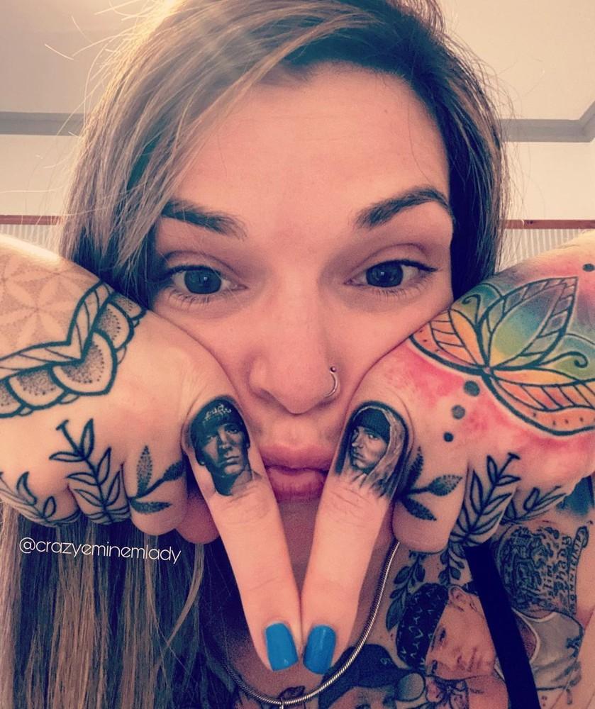 татуировка эминема