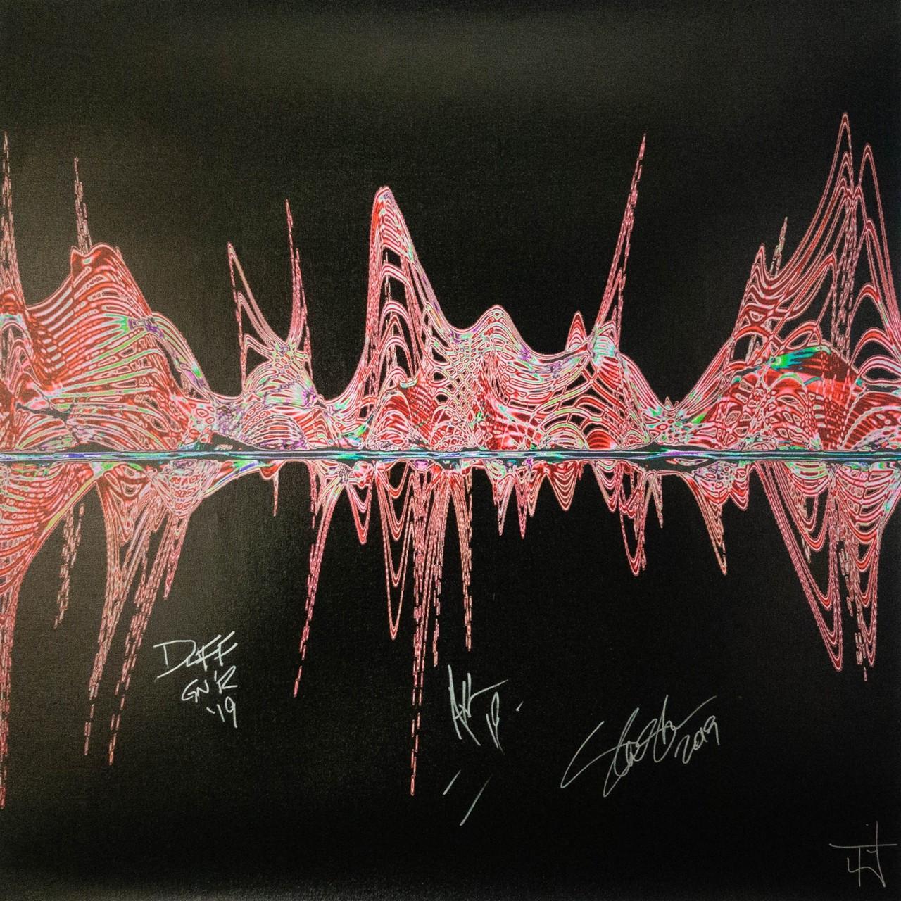 Guns N Roses с песней Welcome To The Jungle в художественном проекте Sound Art Foundation