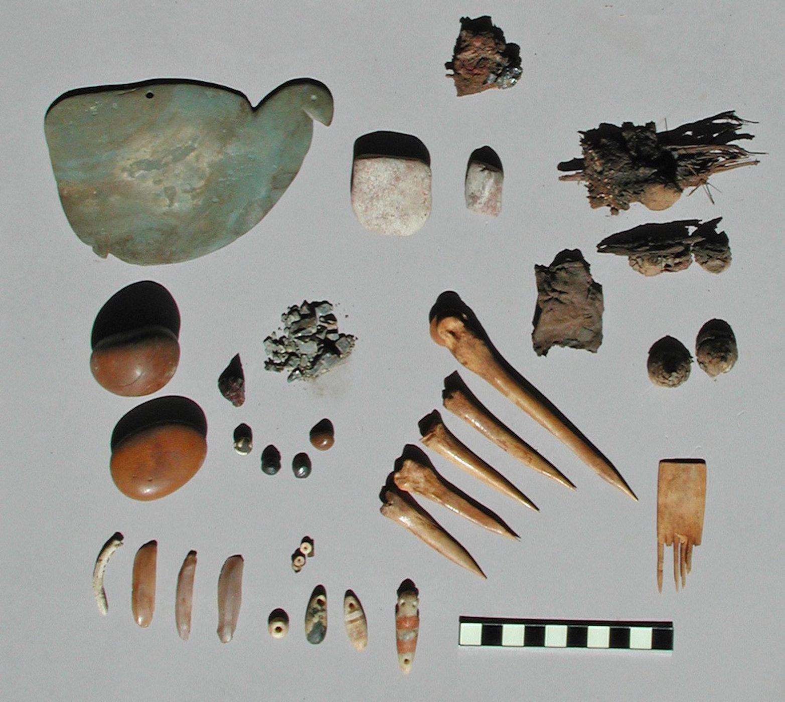 древний татуировочный набор