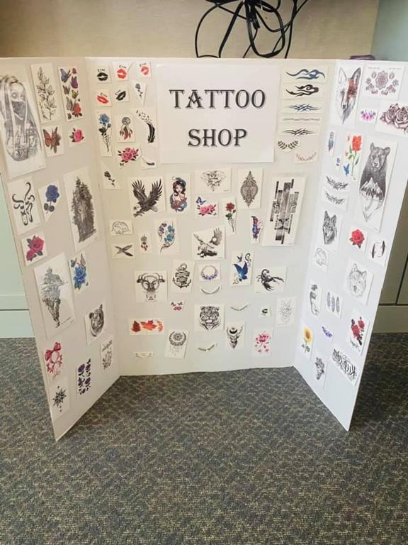 временные татуировки в старости