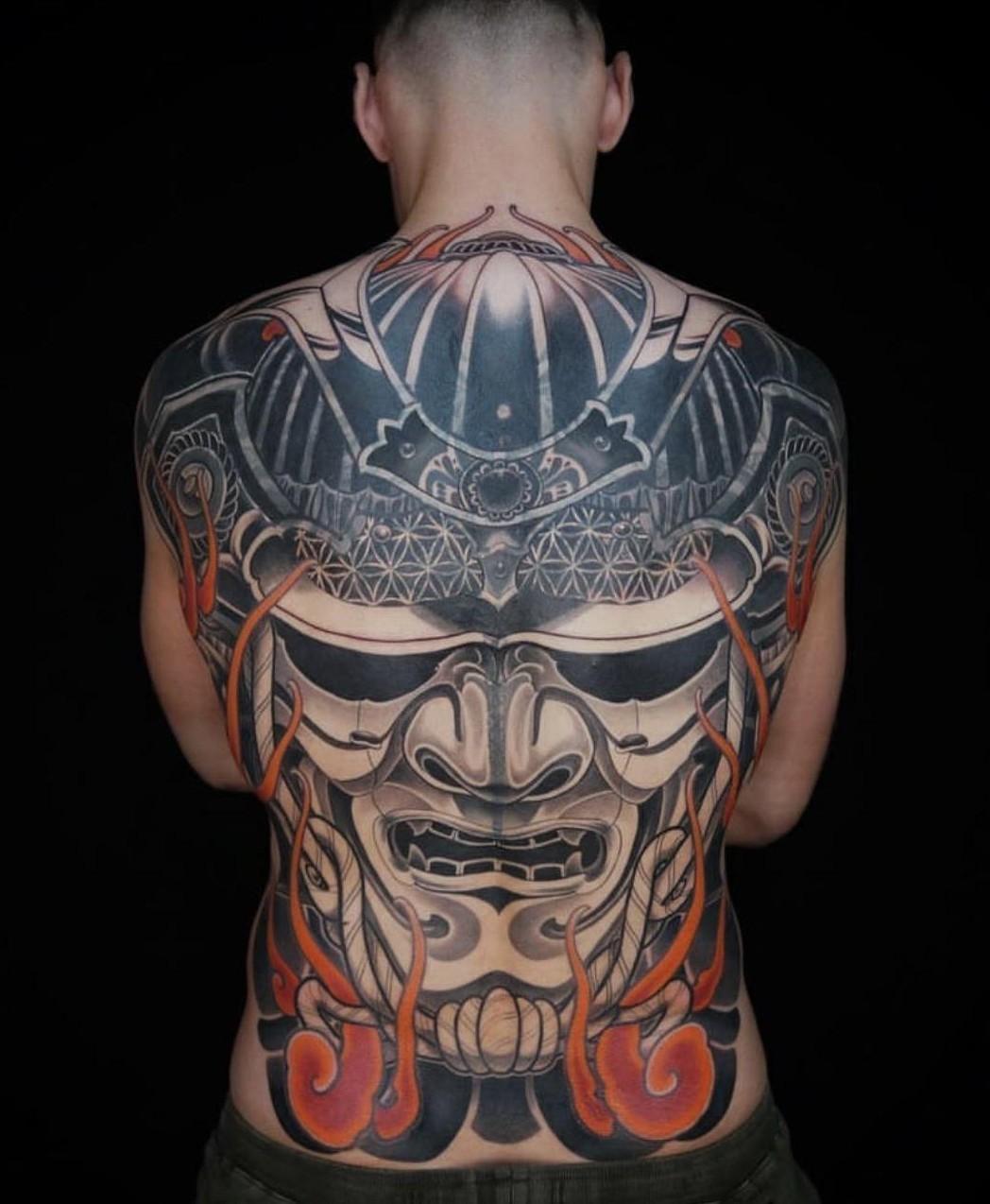 татуировка бойца UFC Александра Волкова