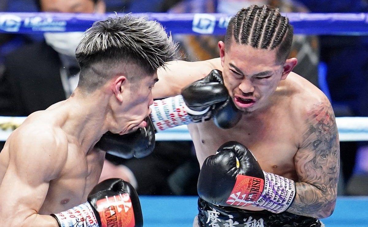 японский боксер Казуто Иока