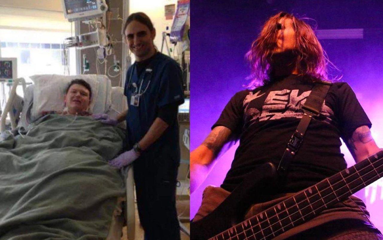 бас-гитарист Hammerlord и вышедший из комы пациент