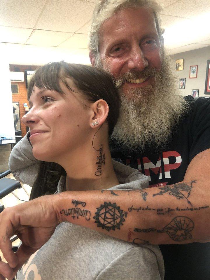 парные татуировки как поддержка больного раком