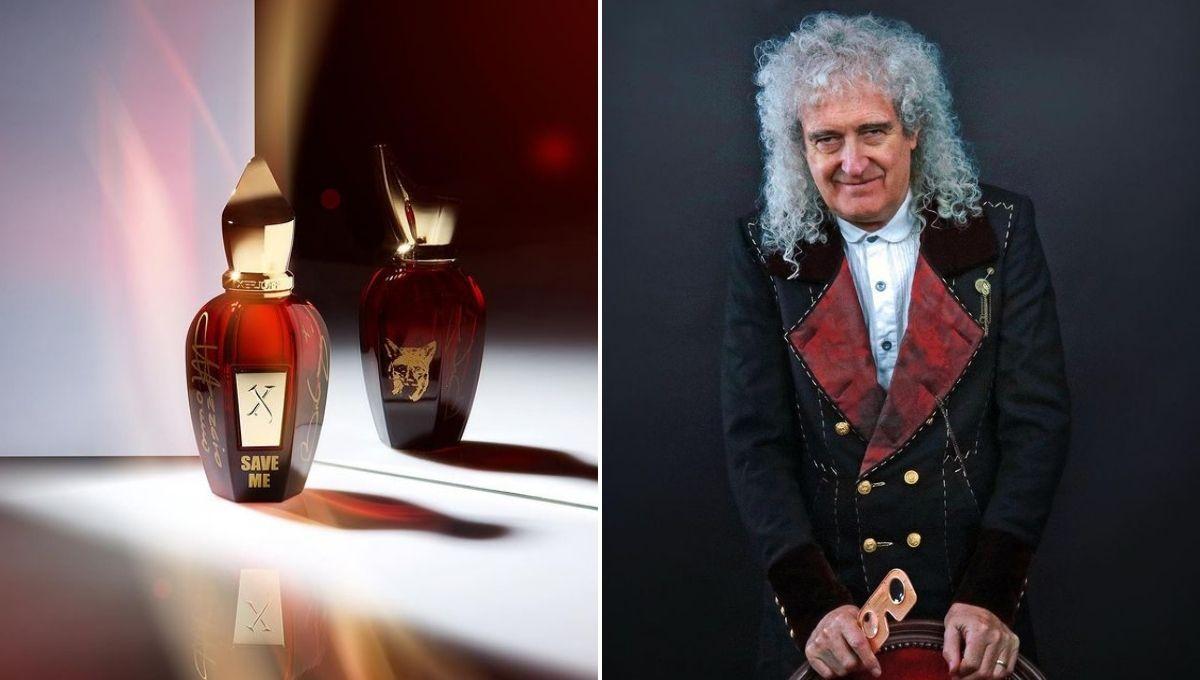 гитарист Queen Брайан Мэй и духи Save Me