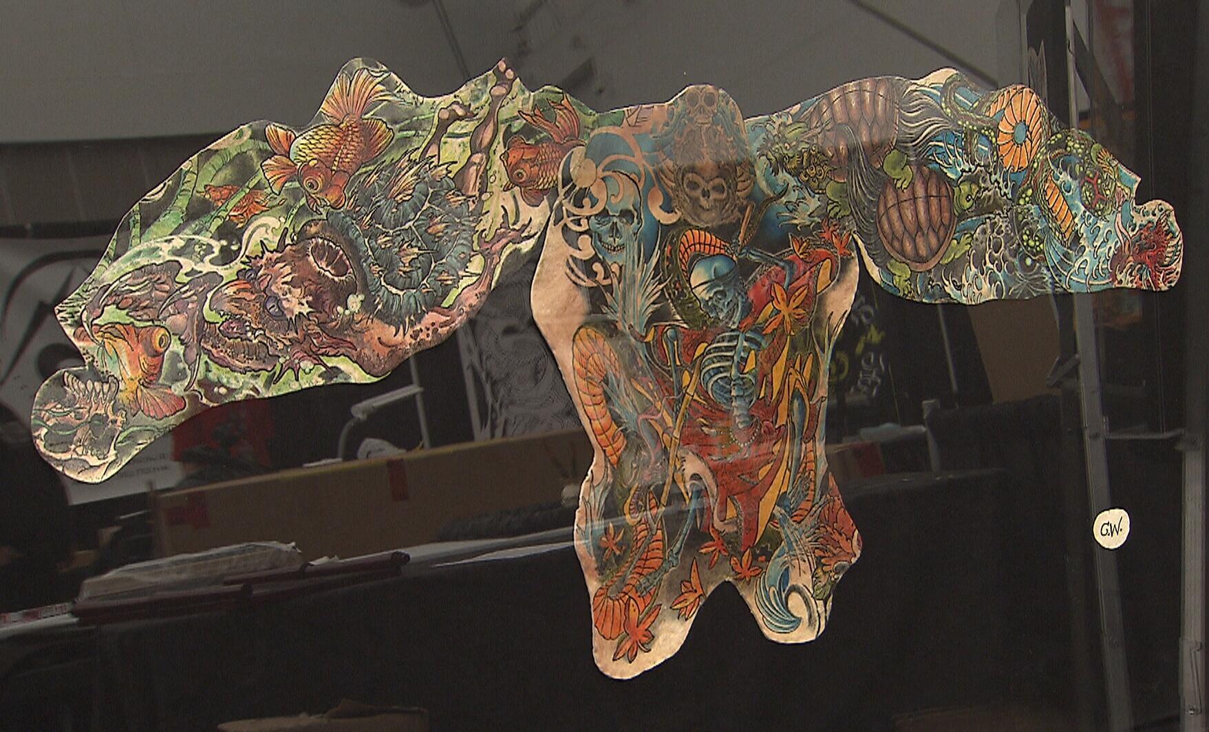 срезанная татуировка