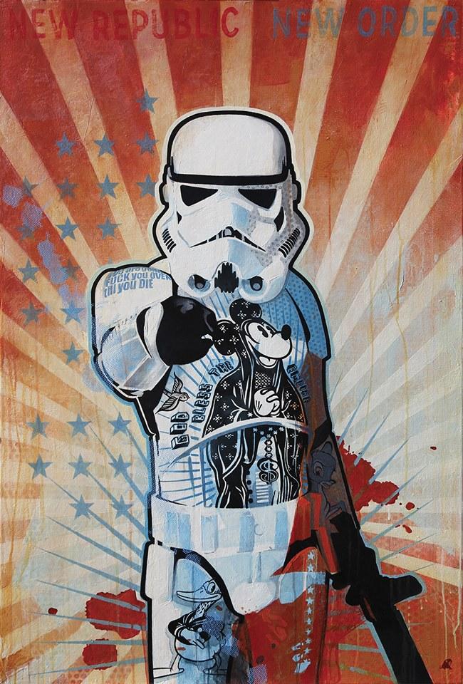 штурмовик из звездных войн